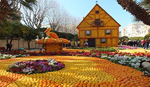 Citrónový festival v Mentone
