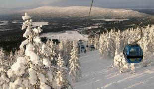 Lyžiaske stredisko Levi, Fínsko