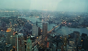 Nový pohľad na New York, USA