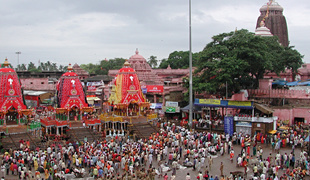 Festival vozov, India