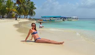 Ostrov San Blas - výlet do raja