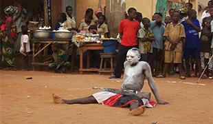 Voodoo festival v Benine